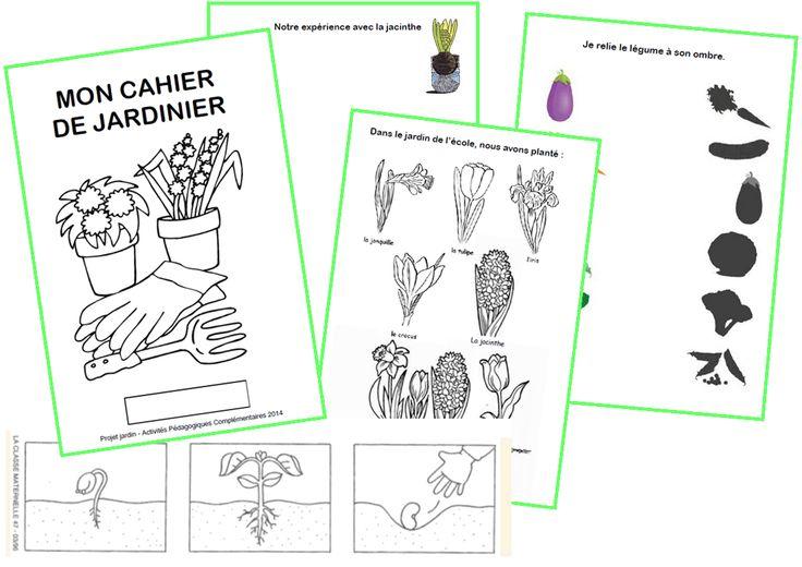 les 25 meilleures id es de la cat gorie jardinage maternelle sur pinterest jardinons l cole. Black Bedroom Furniture Sets. Home Design Ideas