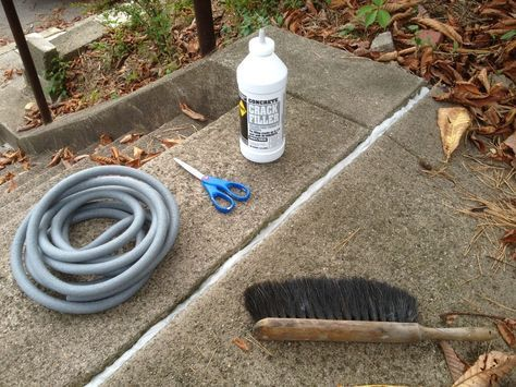 Doing fall preventive maintenance should include taking care of all the small or large cracks in your concrete driveway, steps, or walkways.    I recently did a…