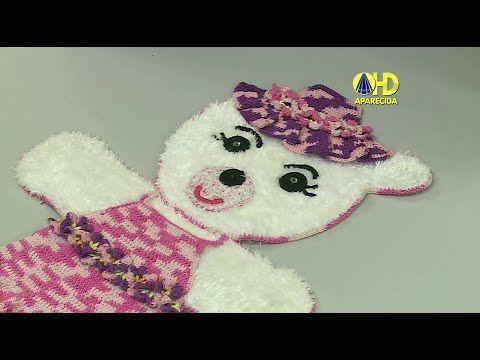 Vida com Arte | Tapete Ursa Kika em Crochê por Maria José - 09 de Setemb...