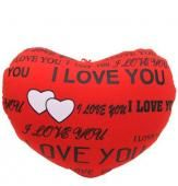 Red Hot Show your partner that how much you love him/ her with this red hot I love you cushion. An adorable 15 Into 10 inches long I love you cushion for your beloved on this valentine day. Shipping Status GiftsXper - Product Deliver by Courier in 4 to 7 Day