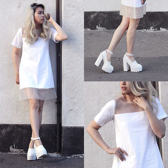 Cindy Karmoko - N.F.R.T White Dress - Little White Dress