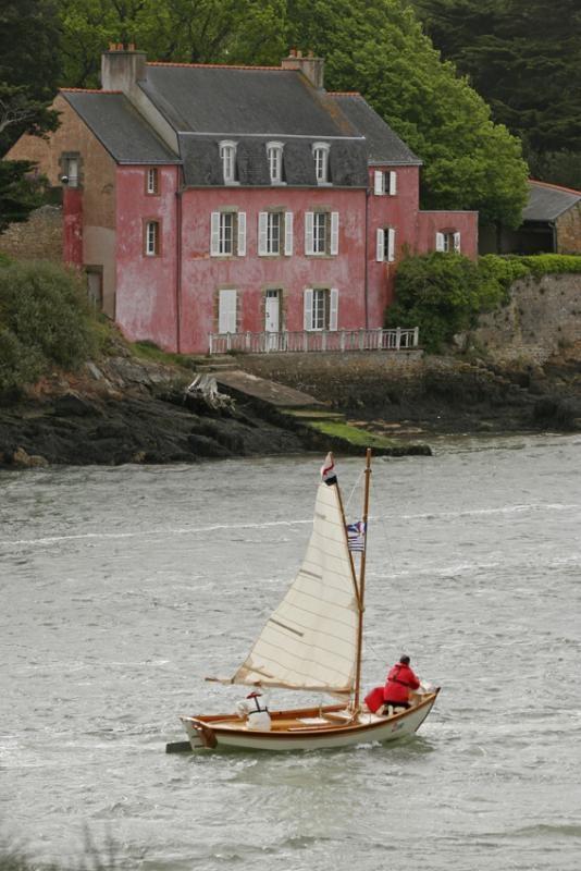 Maison rose de Port Anna, Golfe du Morbihan