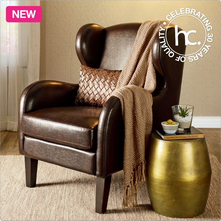 Hartford wingback chair from R3699 cash or only R354 p/m! Shop now >> http://www.homechoice.co.za/Furniture/Lounge-Furniture/Hartford.aspx