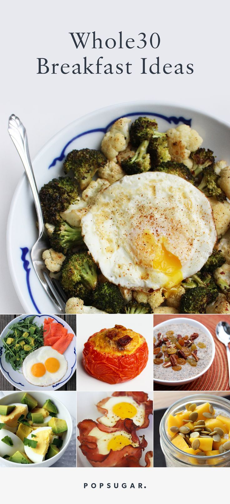 These Whole30-approved breakfast ideas are simple to put together, are… | popsugar #Power_Breakfast #Whole30