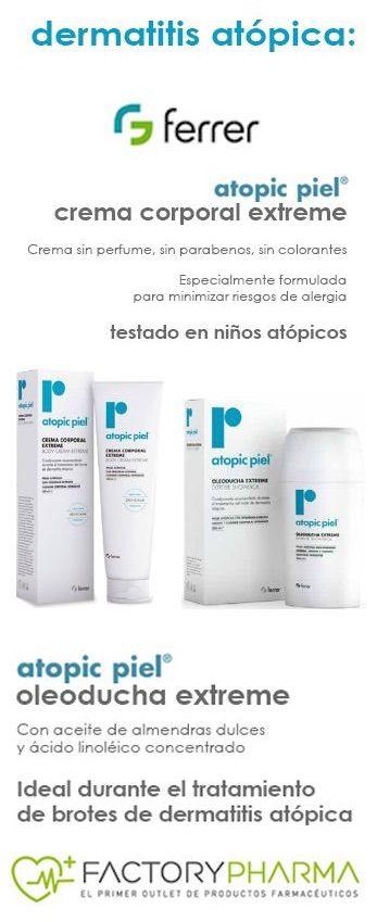 Gama Atopic de Laboratorios Ferrer.