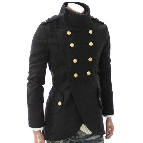 This Men's Double Breasted Civil War Era Coat Is An Easy