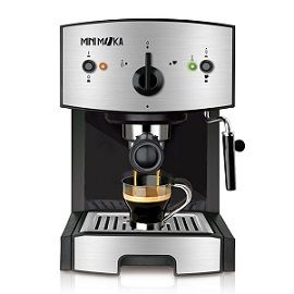 Cafetera espresso Mini Moka CM-1675 por 82,86 euros. 45% de descuento