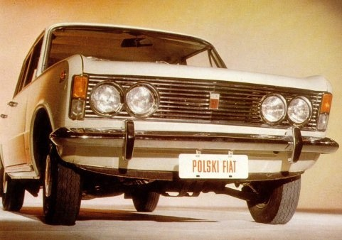Polski #Fiat 125 p
