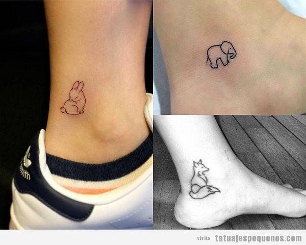 Mas De 100 Ideas Para Tu Proximo Tatuaje Soy Moda Tatuaje Pequeno Tobillo Pequenos Tatuajes De Animales Tatuajes