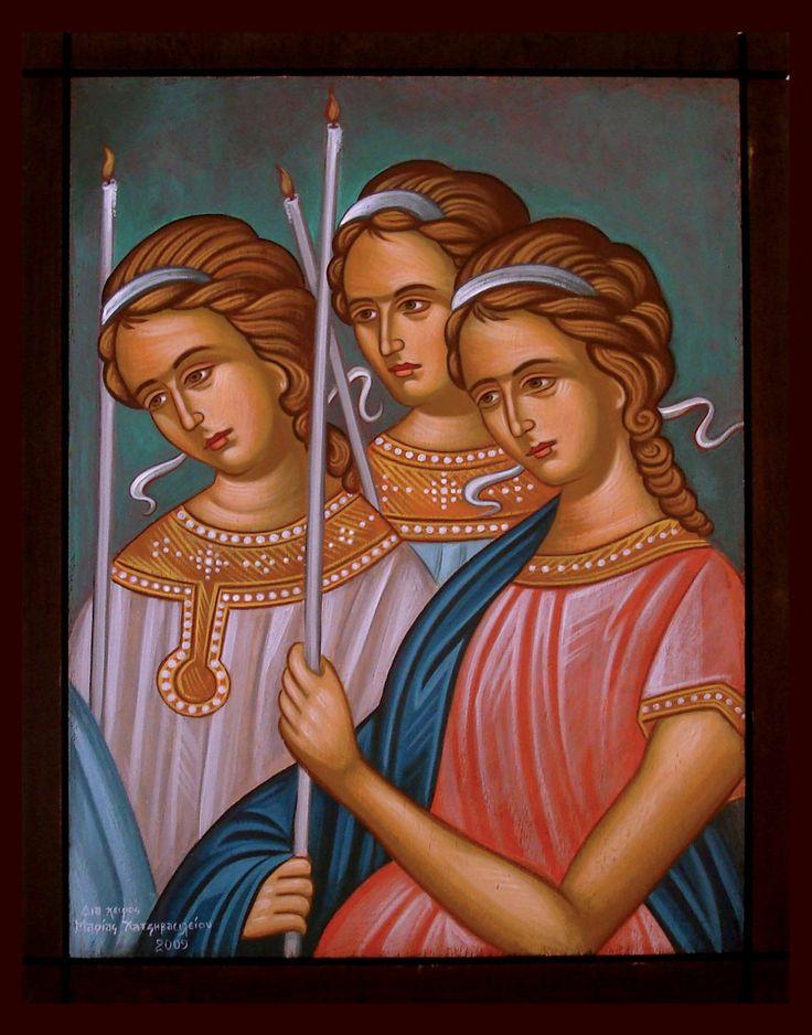 εργαστήριο βυζαντινής αγιογραφίας / μαρία χατζηβασιλείου | Εργαστήριο Βυζαντινής Αγιογραφίας | Icon-Art αγιογραφίες