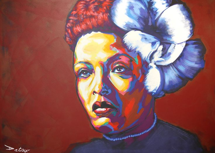 17 best images about art by detour on pinterest redline for Billie holiday mural
