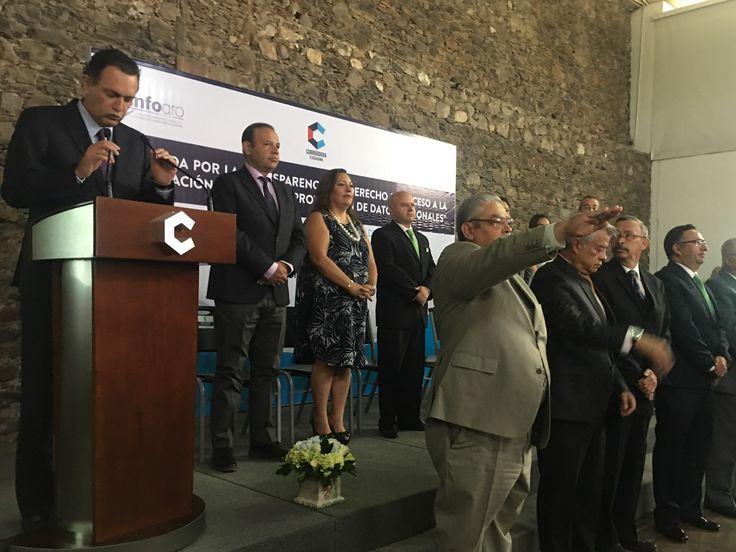 Consejo ciudadano de transparencia de Corregidora rinde protesta    http://ift.tt/2wrwX0y