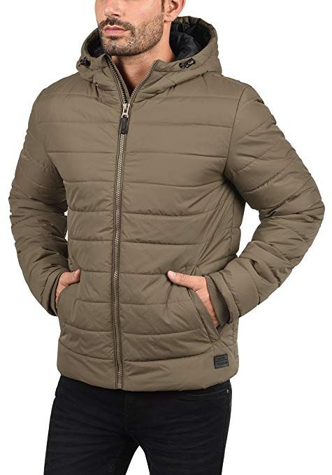 06979021e0cc Blend Nilson Men s Quilted Jacket Puffer Jacket Padded Jacket with Hood