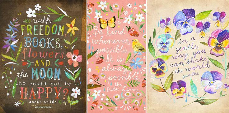 Ilustradora+se+inspira+na+natureza+para+criar+cartazes+que+aguçam+a+criatividade