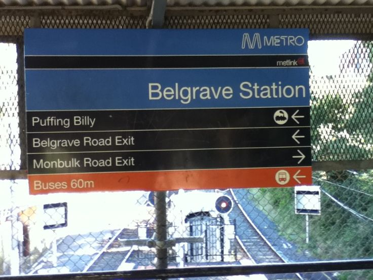 Hop off at Belgrave station to begin your walk. Belgrave is a Zone 2 station easily accessible from the city.