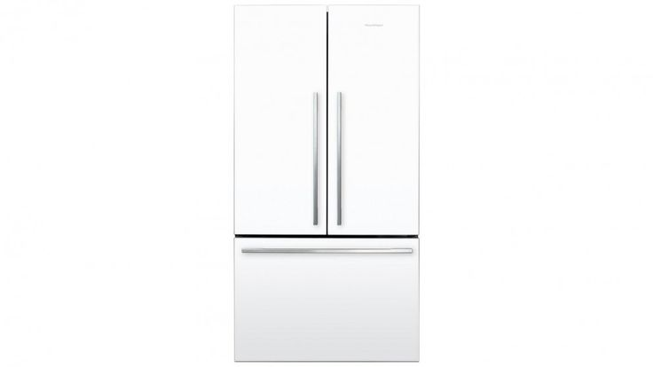 Fisher & Paykel 614L French Door Fridge - White - Fridges | Harvey Norman…
