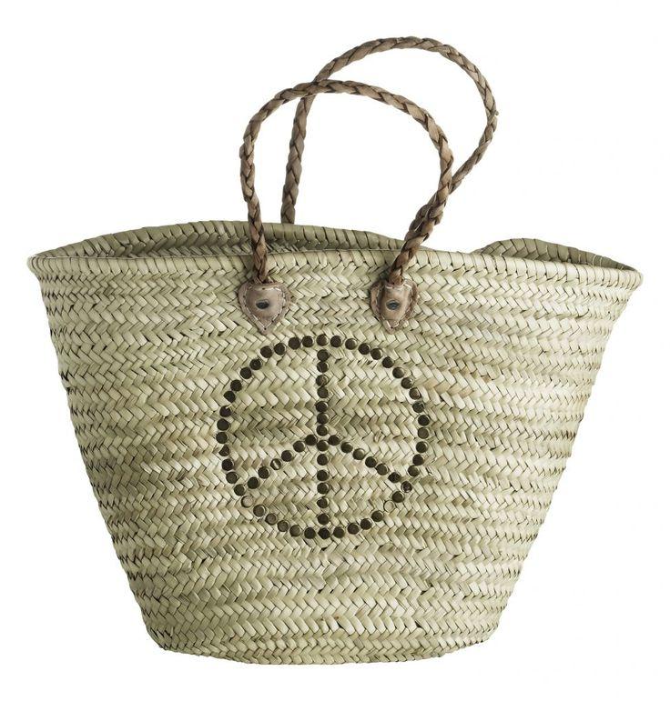 Maxi slámová taška Morocco Peace   Nordic Day