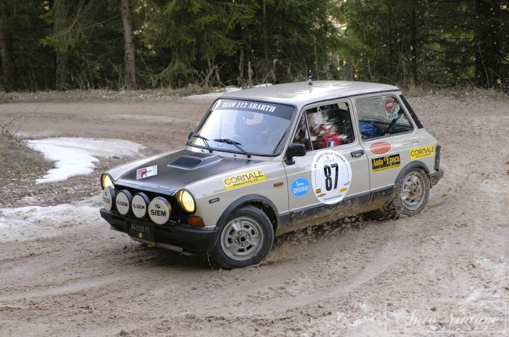 A112 Abarth Rally