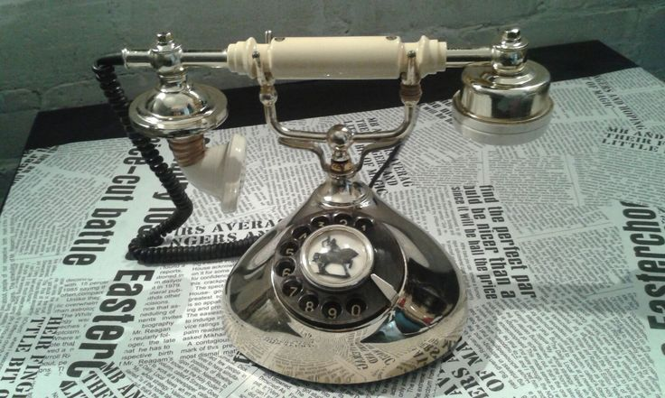 Vintage gold phone...