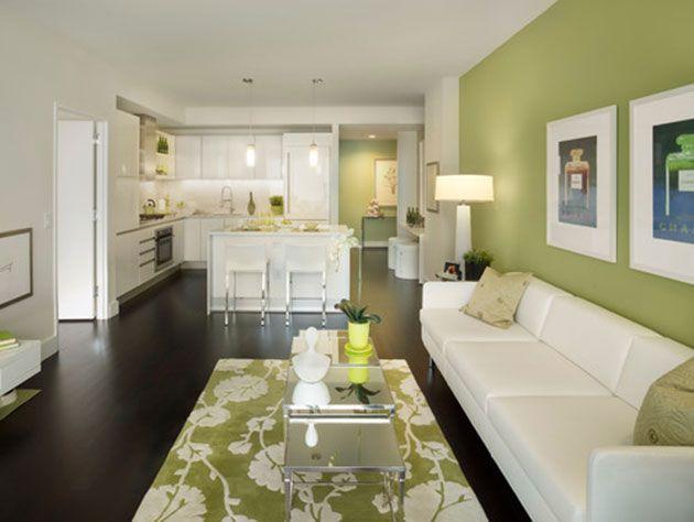 17 ideas para pintar y decorar un salón con muebles blancos ...