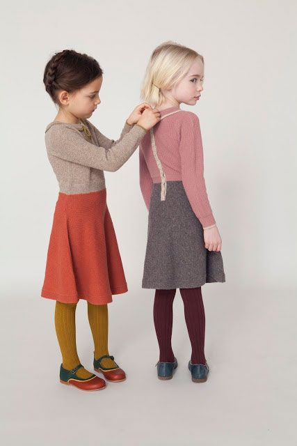 Romy Rose and Sapphire often help each other get dressed for their sartorially inspired play dates.