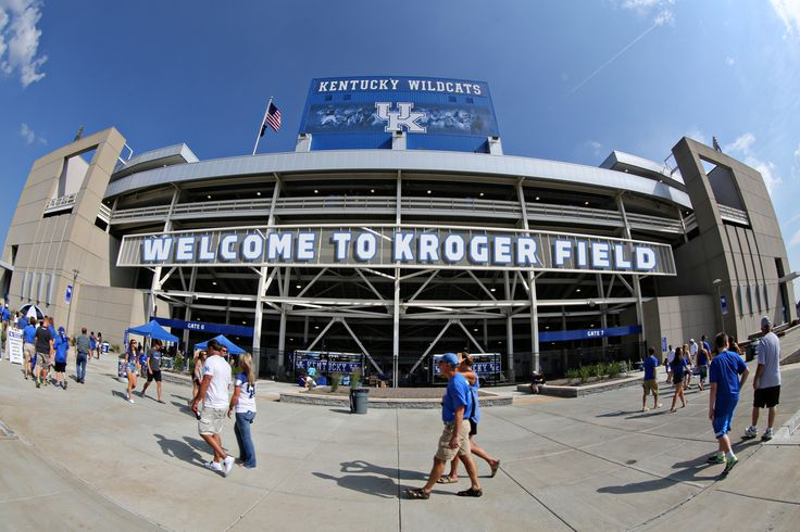 05-01-2017  The University of Kentucky, JMI Sports and Kroger announced a comprehensive and unprecedented partnership that expands Kroger's commitment to UK Athletics and the University of Kentucky, including the renaming of UK's football stadium to Kroger Field.