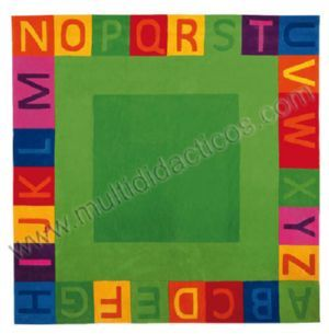 #Alfombra abecedario #cuadrada #gigante - Tienda Educamueble