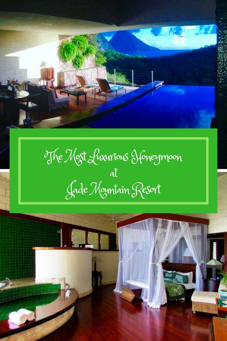 The most luxurious Honeymoon at Jade Mountain Resortwedding trends