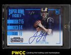 2016 Panini Contenders Super Bowl Ticket Jared Goff ROOKIE RC AUTO 1/1 (PWCC)
