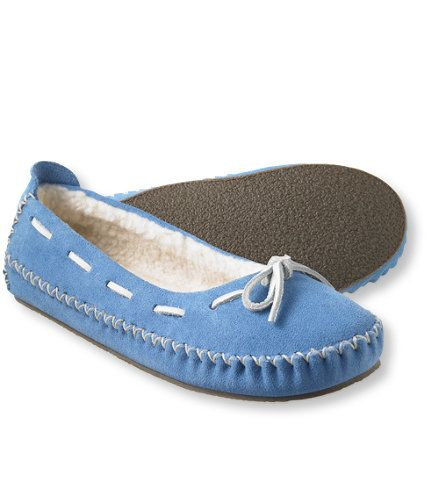 L.L.Bean Slippers, blue, size 6  $40