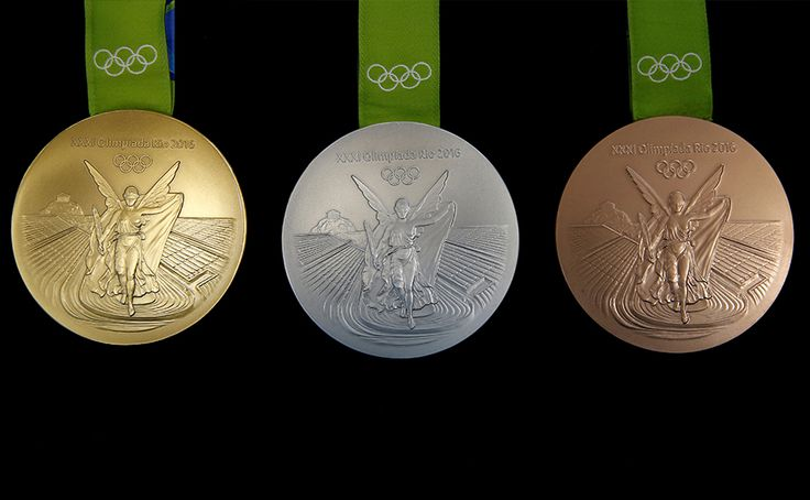 rio olympics   Making of Rio 2016 Olympic medals: From recycled mirrors, X-ray plates ...