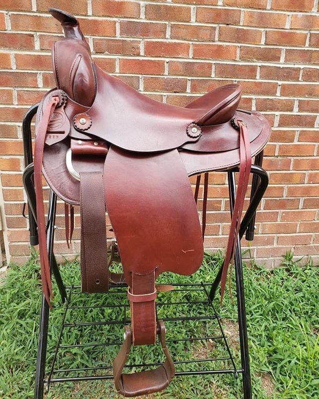 NEW American Saddlery A-Fork Ranch Saddle 15