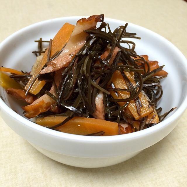 まいりさん料理 あらめの煮物をみてから、ひじきよりあらめを使う事が多くなりました。 - 63件のもぐもぐ - まいりさんの料理 あらめの煮物 by hamama0725