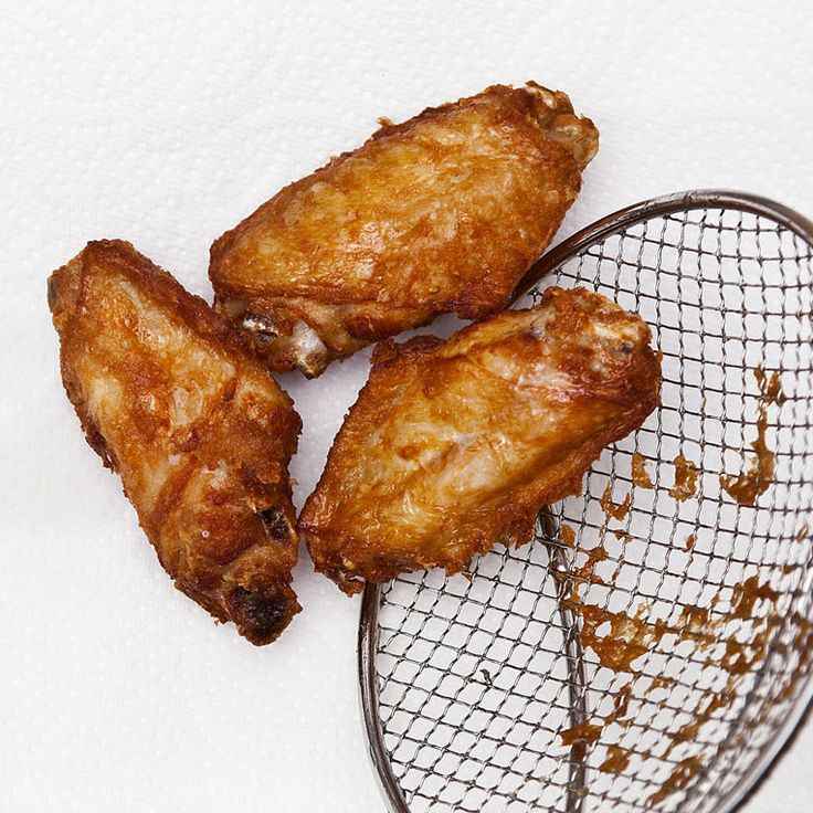 Drain fried foods on paper towels to remove excess fat.