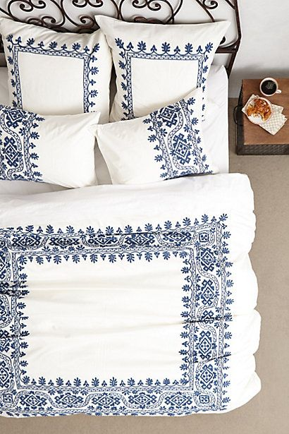 beautiful embroidered duvet #anthrofave http://rstyle.me/n/sghz9r9te