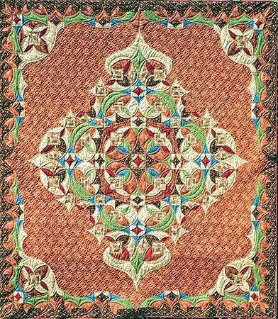 Morisco by Jane Blair. Museum of American Quilters In National Quilt Museum