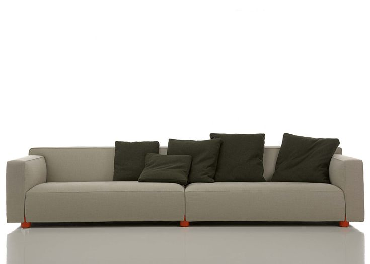 Edward Barber and Jay Osgerby designed a collection of sofas for American furniture brand Knoll