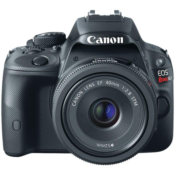 Canon 18.0 Megapixel Eos Rebel Sl1 Digital Slr Camera