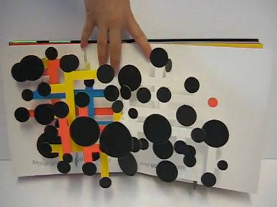 Peter Blake's ABC and 600 Black Spots, a pop-up book by David Carter
