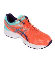 Asics Women Fiery Coral Active Sport Shoes GEL-CONTEND 2