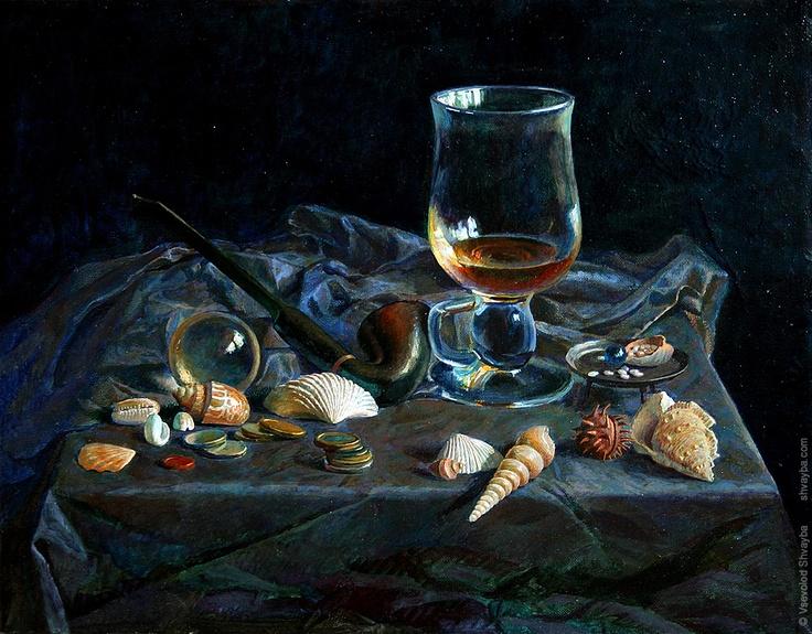 Voyage  oils on canvas 40х50cm.