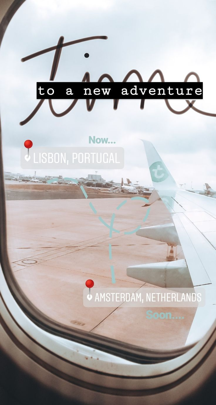 Time to a new adventure in Amsterdam