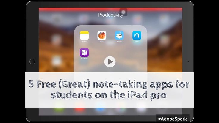 Top 5 free notetaking apps for your iPad pro Paperless