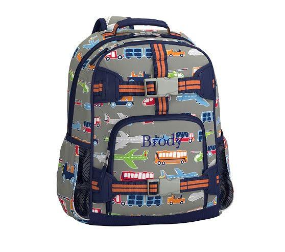 Mackenzie Brody Transportation Backpacks Pottery Barn