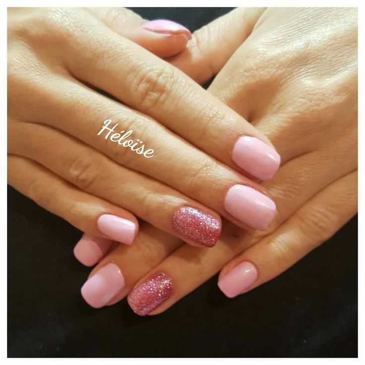 Pink And Pink glitters