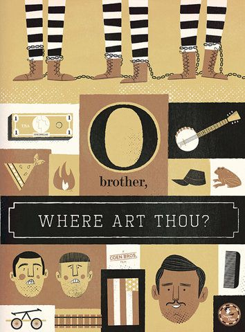 o brother where art thou poster  Brother, Where Art Thou?