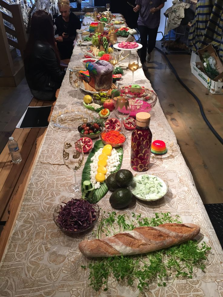 Linanoel's 'Feast Your Eyes' video shoot featuring her whimsical cutlery and fantasy food.