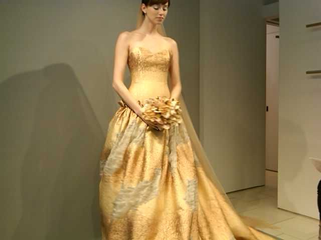 Showstopper! By TheiaWedding Dressses, Gold Weddings, Wedding Dresses Shops, Fashion Wedding Dresses, Wedding Dress Shopping, Gold Wedding Dresses
