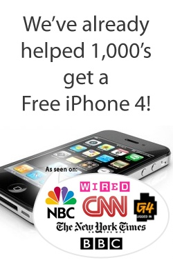 Get iPhone for FREE