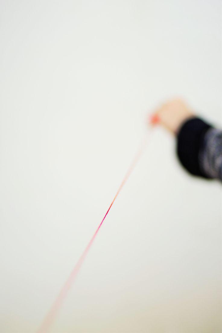 un hilo invisible... It's the invisible red thread of fate